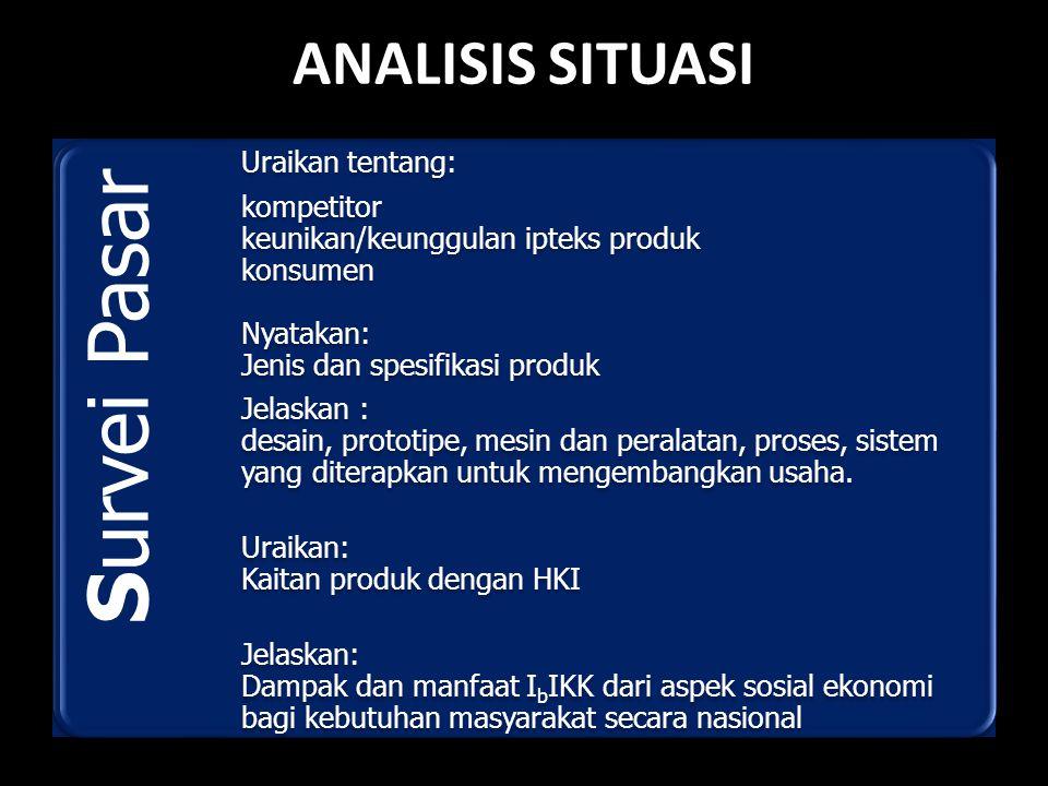 Menganalisis situasi pasar
