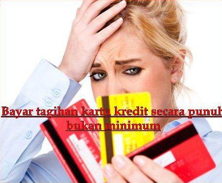 cara melunasi kartu kredit