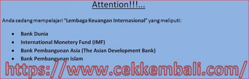 lembaga keuangan internasional