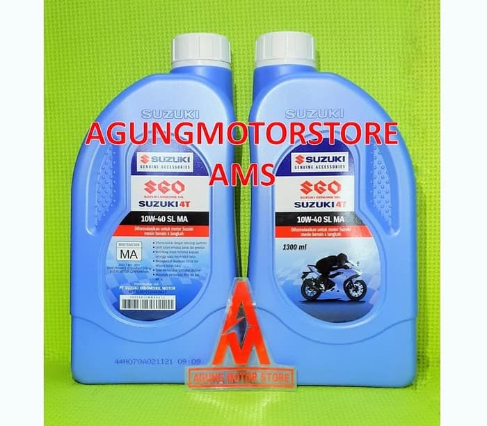 4T SGO Suzuki Genuine Oil 10W40 1300 ML