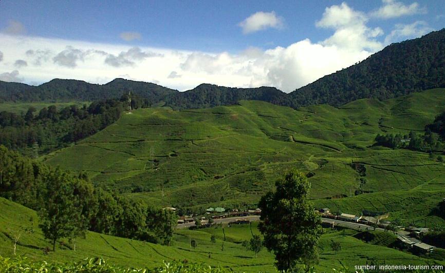 Pemandangan di bukit serpong indah