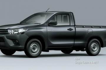 Toyota Hilux Single Cabin