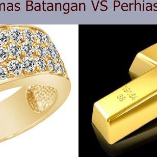 picture of Emas Perhiasan VS Investasi Emas Batangan